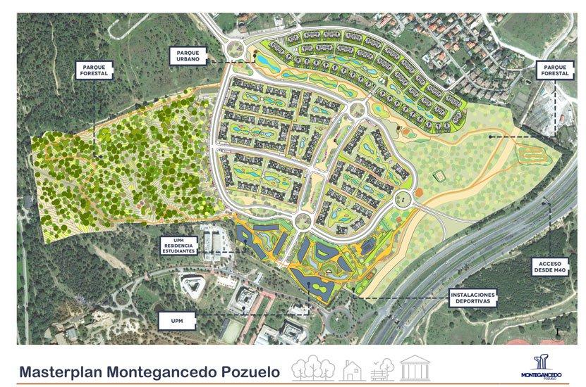 Montegancedo, el gran proyecto urbanístico de Pozuelo ya es una realidad